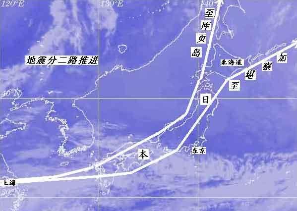 转速度变化促使琉球群岛